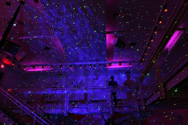 starbeams shower the supperclub night club in san francisco