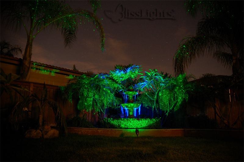 Bliss Firefly Laser Outdoor Lights