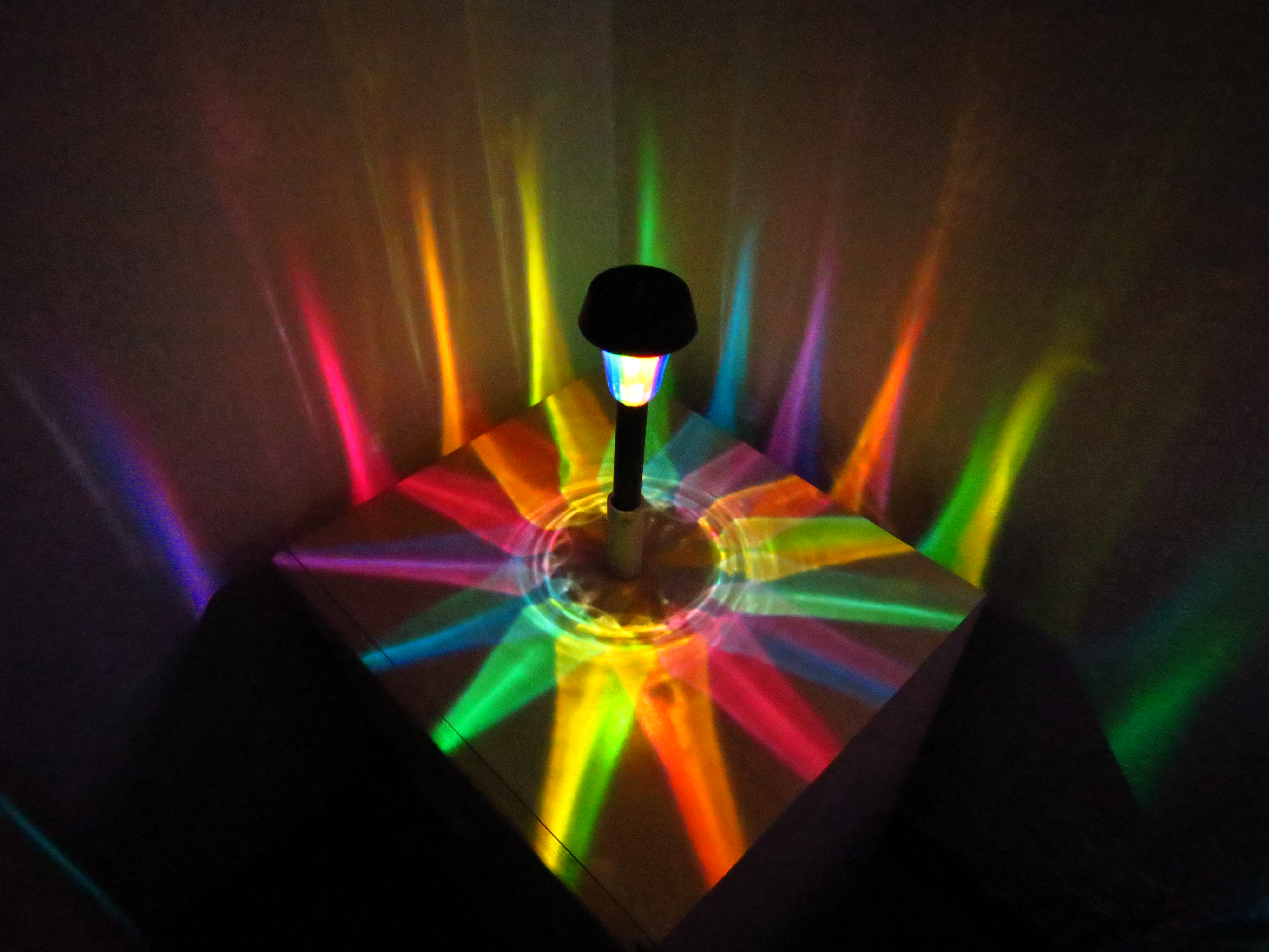 Available now SOLAR RAINBOW PATH LIGHTS – LasersandLights