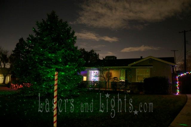 GALLERY OUTDOOR LANDSCAPE Laser Starfield Projectors using BlissLights