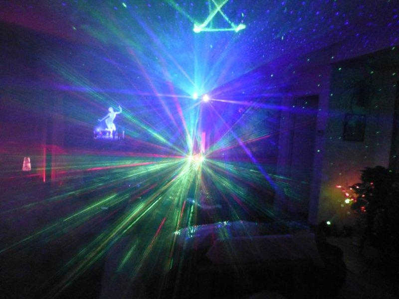 Add Fog To Your Light Show With Laser Starfield Projectors
