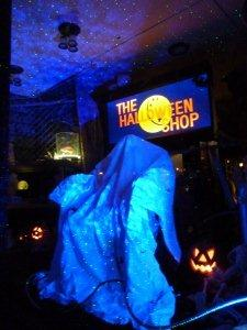 Laser starfield projectors add magical element lighting - Halloween laser light show ...