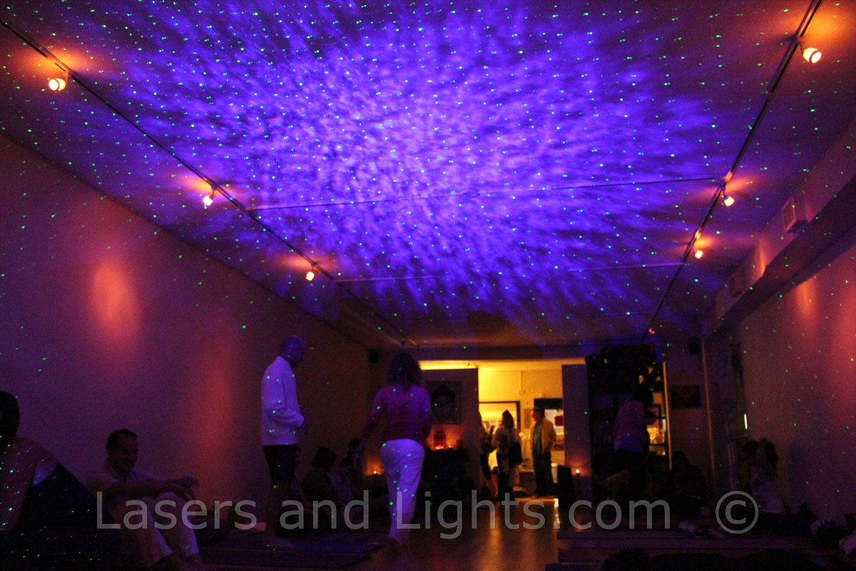 lasersandlightscom blog  laser stars and bliss lights starfield  - img dharma yoga miami in bliss