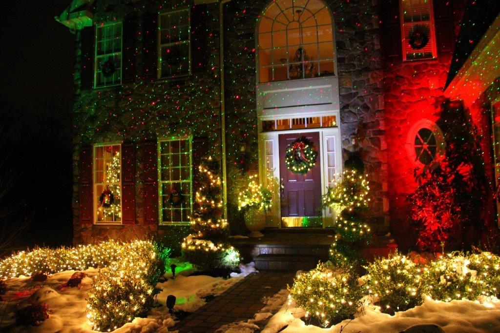 Christmas Lights Projector