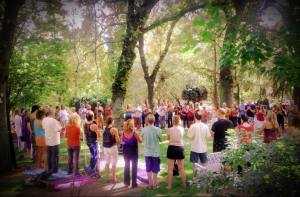 River of Bliss gathering 2013