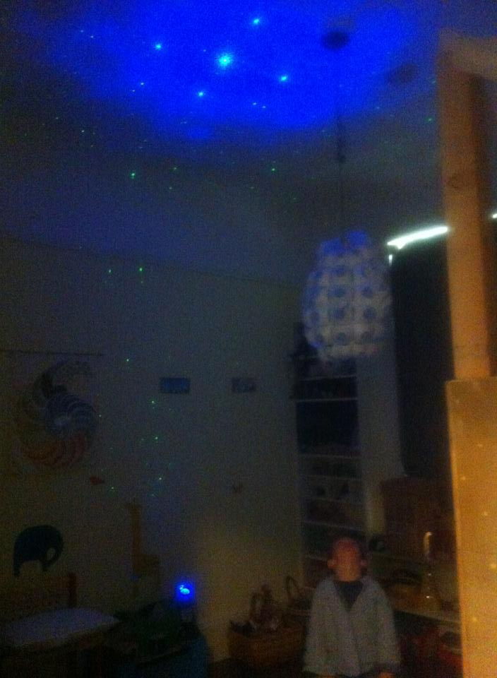 Hey Mommy My Room Is A Supernova Observatory Laser