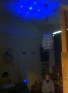 super nova  laser stars2