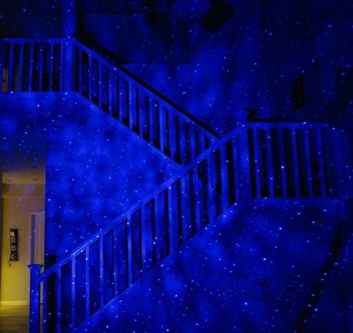 blisslight blue laser starfield projector price slashed. Black Bedroom Furniture Sets. Home Design Ideas