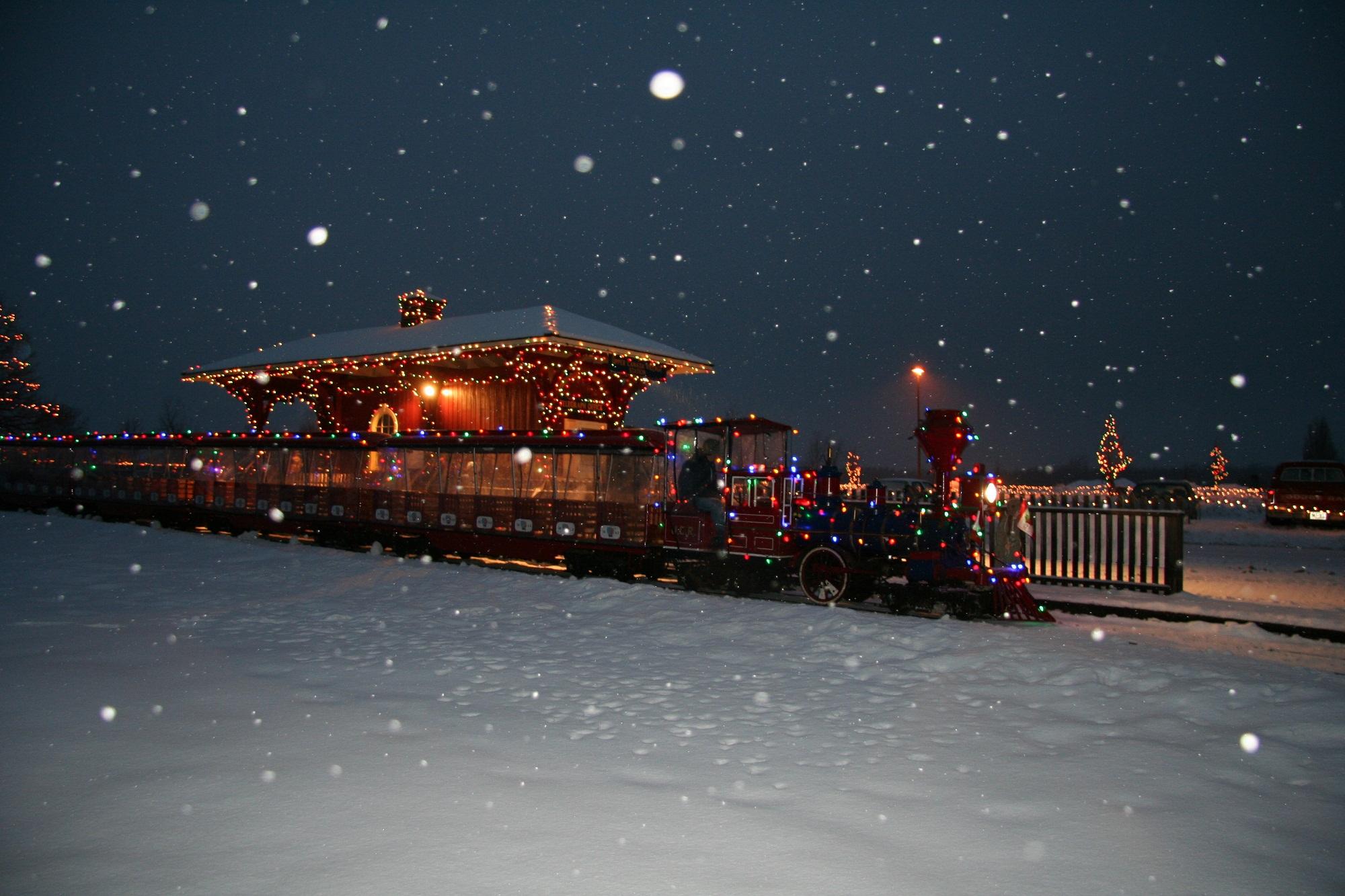 Alight At Night Event Lights Up Upper Canada Village
