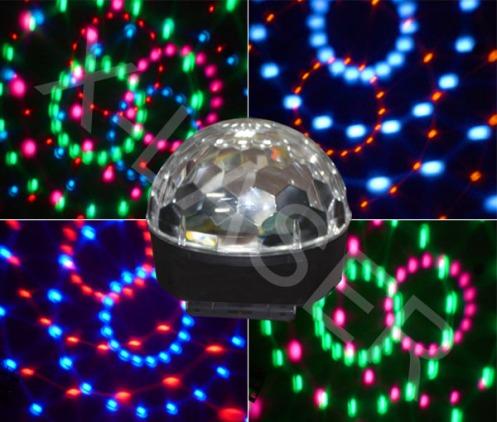 LED crystal ball colored. 2jpg