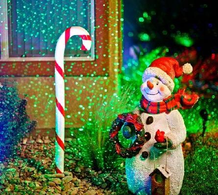 spright xmas snow man