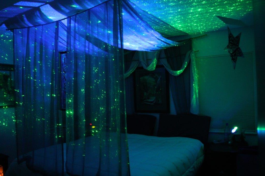 best dark & Transform your bedroom into a mystical boudoir with fabrics and ... azcodes.com