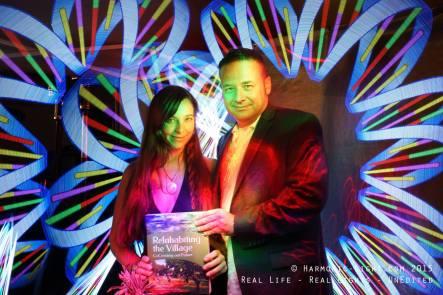 jamaica & Julian RIV book launch party 7-2015