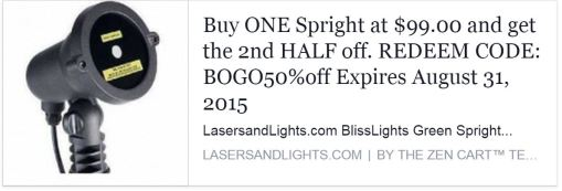 BOGO half off spright sale2