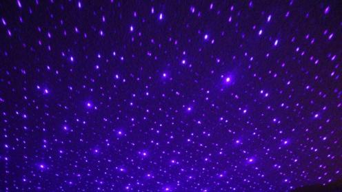 Blue laser on LED (2)